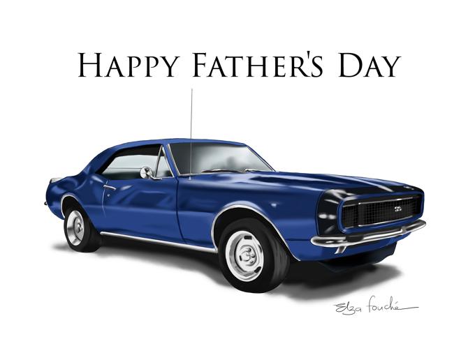 Happy Father's Day Camaro