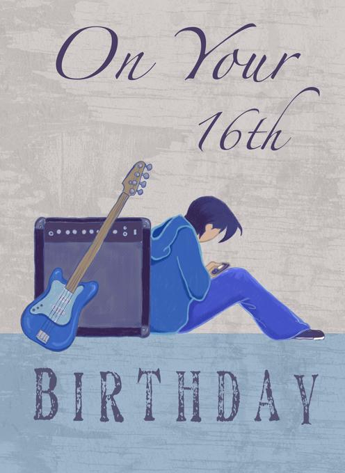 16th Birthday Boy