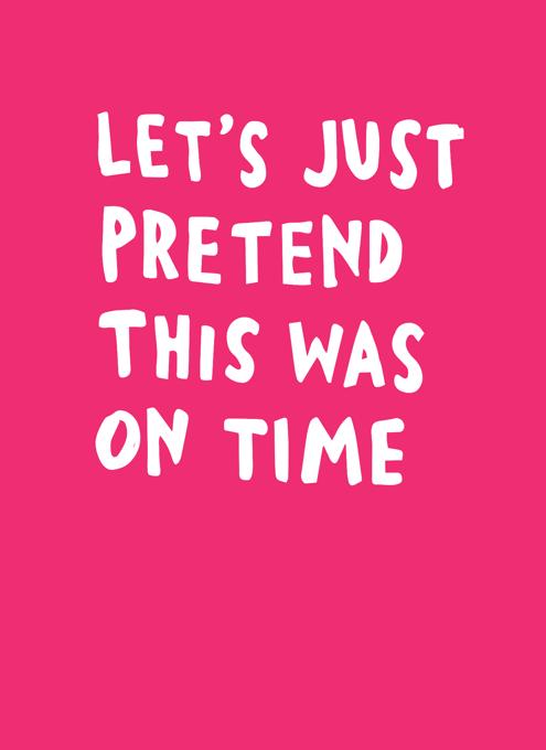 Let's Just Pretend