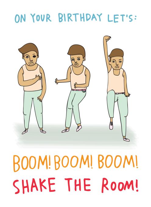 Boom Boom Boom Shake The Room