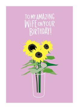 Wife Sunflowers