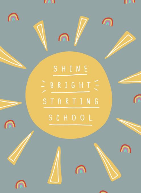 Starting School Sunshine