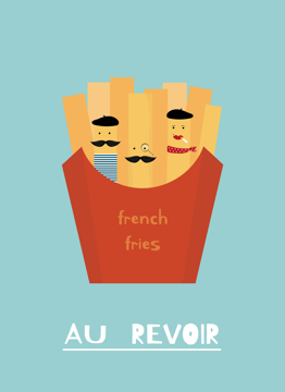 French Fries Au Revoir