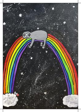 Rainbow Sloth