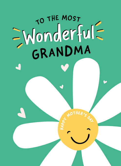 Wonderful Grandma Mother's Day Card
