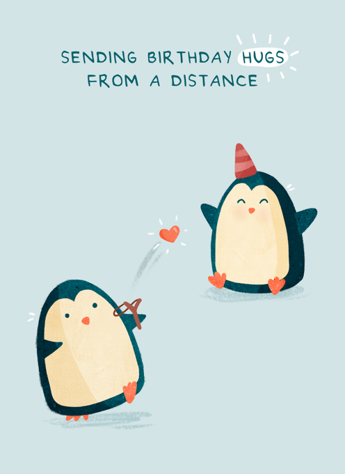 Hugs From A Distance
