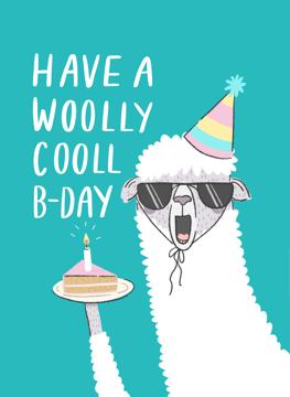 Woolly Cooll Birthday