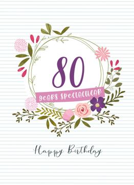 80 Years Sensational