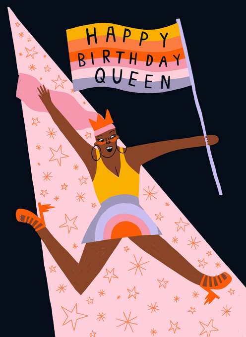 Birthday Flag