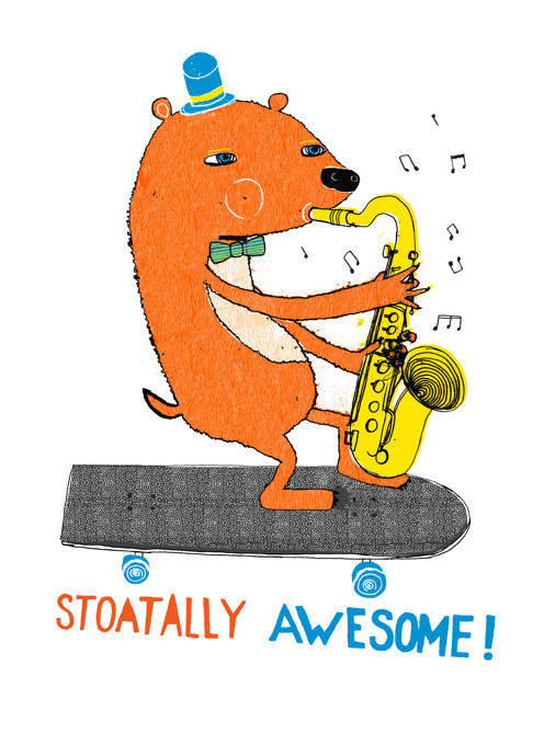 Stoatally Awesome, Congratulations
