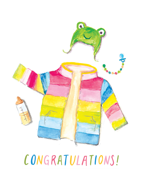 Rainbow Baby - Congratulations!