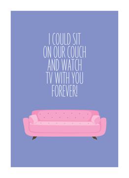Couch Valentine