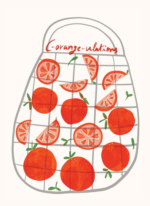 Oranges Congrats
