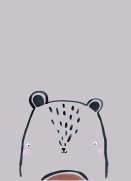Inky Line Teddy