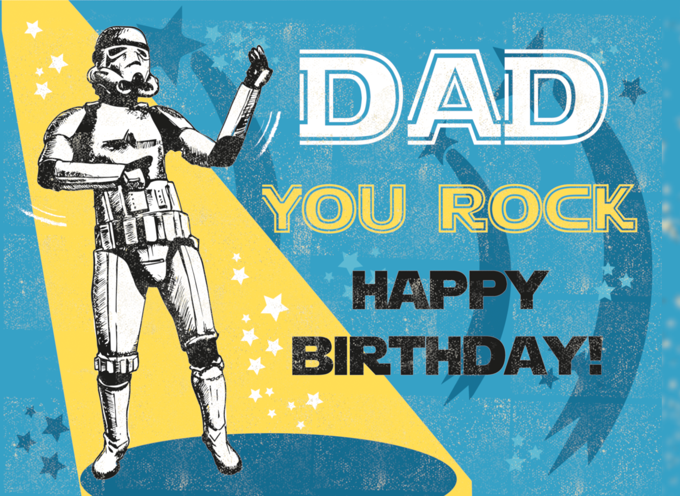 Dad Stormtrooper