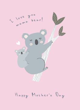 Mama Koala Bear