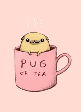 Pug Of Tea