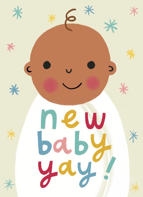 New Baby, Yay!