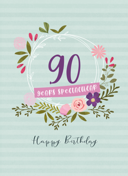 90 Years Spectacular
