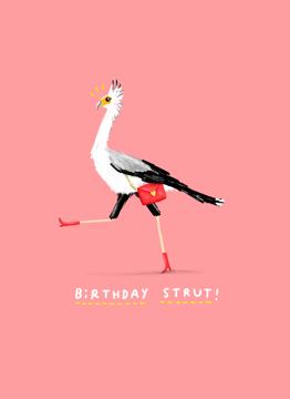Birthday Strut
