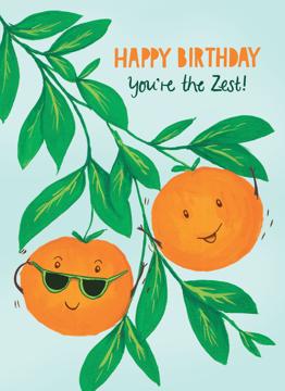 Birthday Oranges