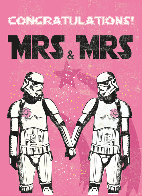Mr & Mrs Stormtrooper