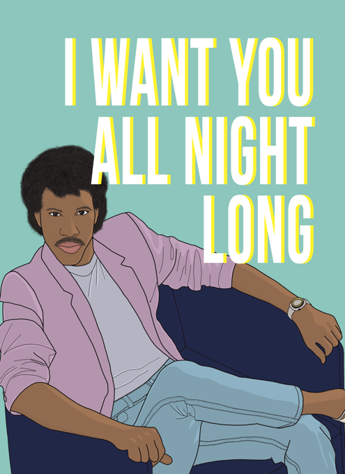 Lionel Richie I Want You All Night Long