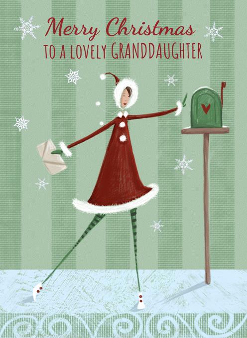 Merry Christmas Lovely Granddaughter