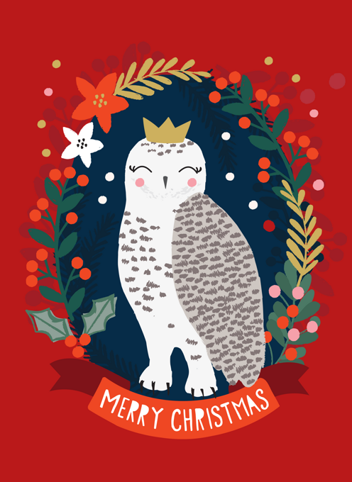 Snowy Owl Holiday