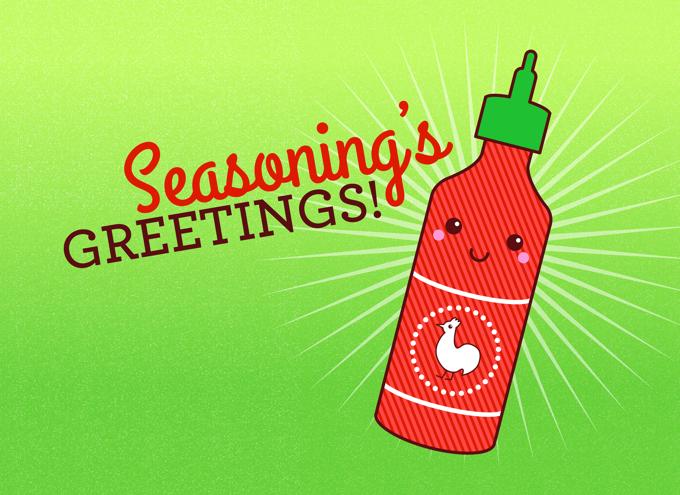 Seasoning's greetings!
