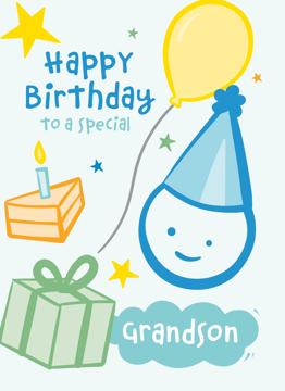 Special Grandson Birthday