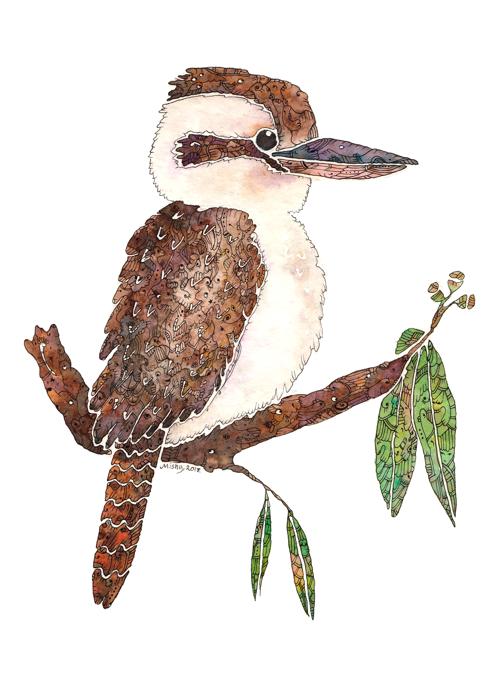 Simon The Kookaburra