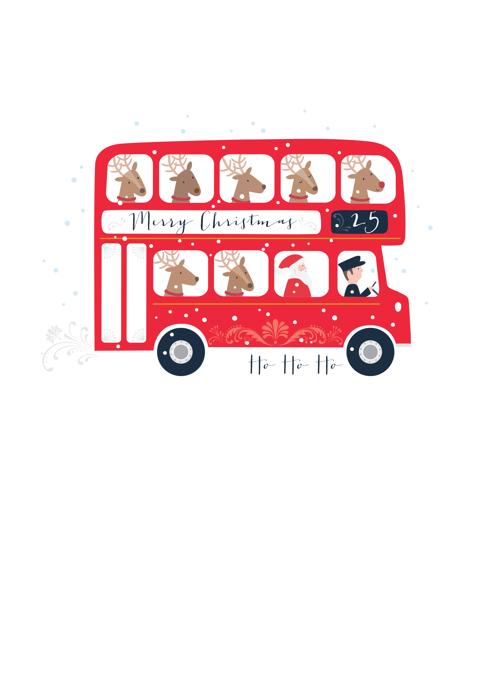 Christmas Santa Bus