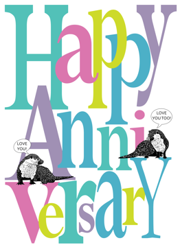 Happy Anniversary Otters
