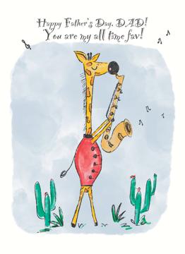 Father's Day Giraffe