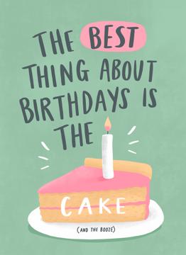 Cake And Booze