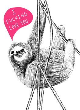 Swearing Sloth