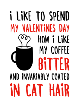 Cat Hair Valentines
