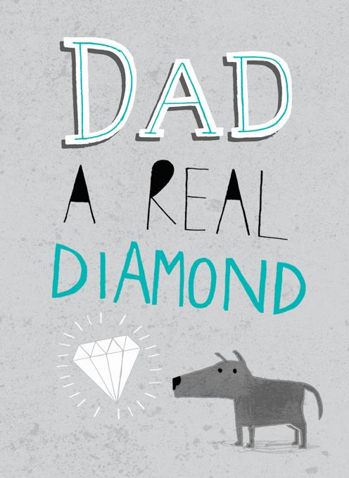 Dad Diamond Dog