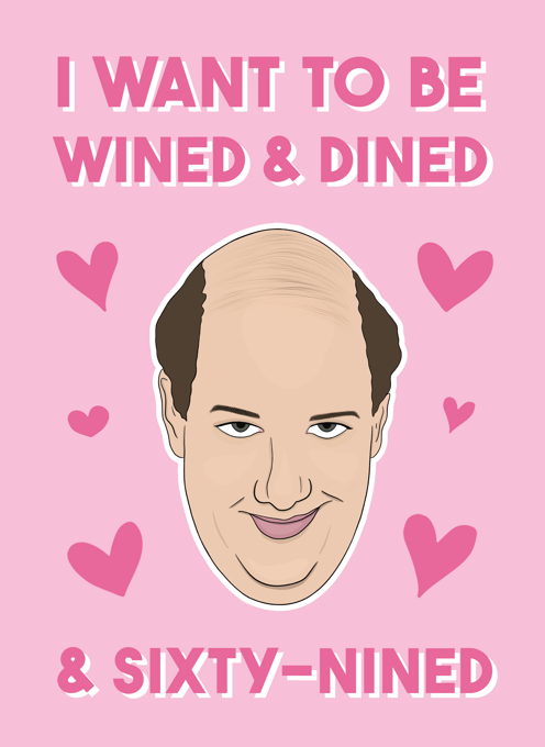 Kevin Malone - The Office Love Card