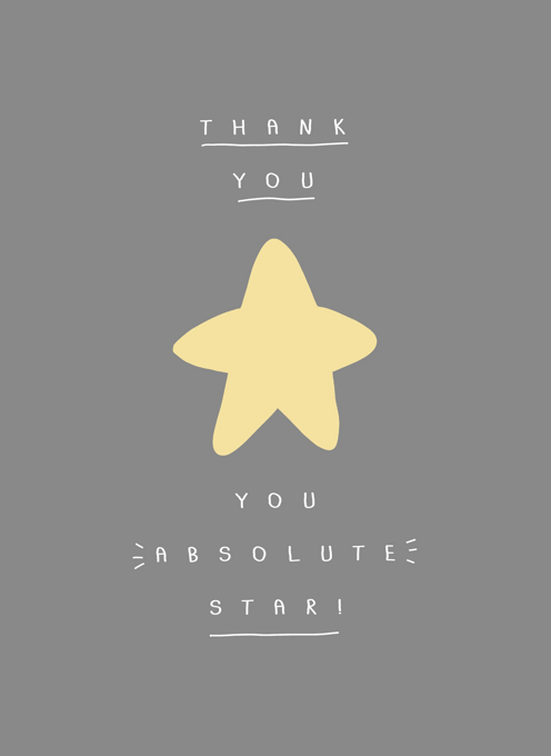 Thank You Star