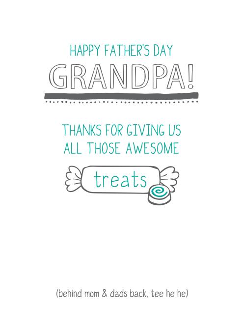 Happy Father's Day Grandpa