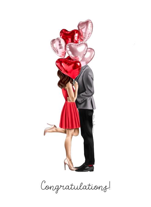 Congrats Engagement 3