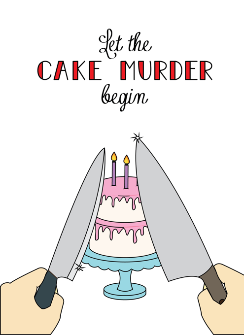 Let The Cake Murder Begin