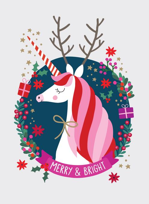 Magical Christmas Unicorn
