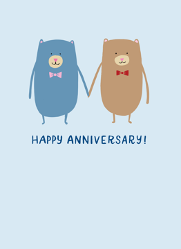 Anniversary Boy Bears