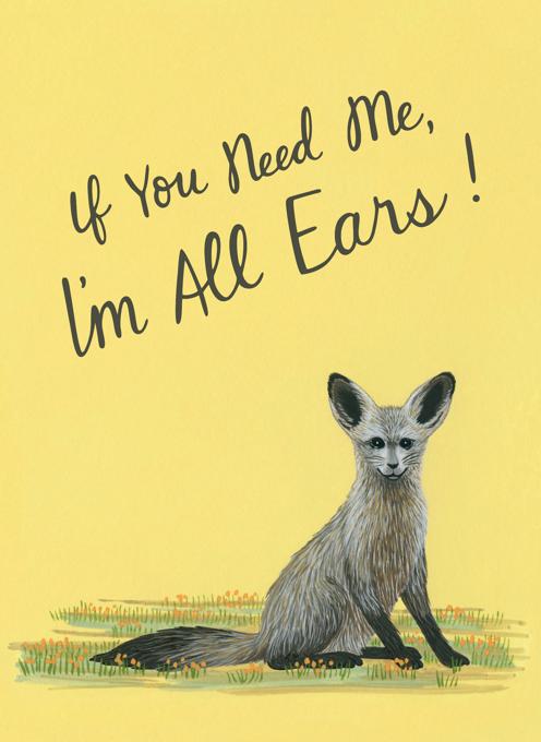 All Ears Sympathy Card