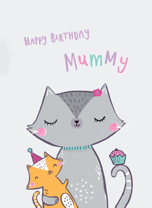 Happy Birthday Mummy Cats