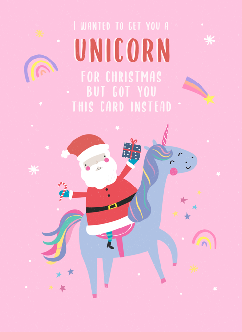 Unicorn For Christmas