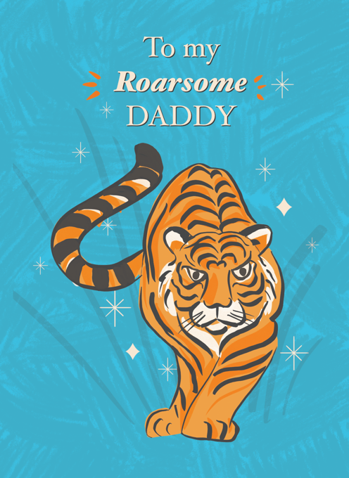 Roarsome Tiger Father's Day